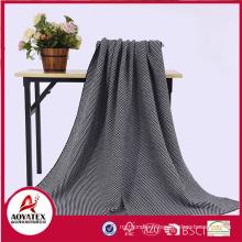 Couverture de tissu acrylique de textile à la maison pour le cadeau
