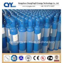 Medizinisch verwendet Sauerstoff Stickstoff Lar CNG Acetylen CO2 Hydrogeen Stickstoff Lar CNG Acetylen Wasserstoff 150bar / 200bar Hochdruck-Gas-Zylinder