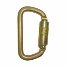 2308TL Stahl klein D Rettungssicherheit Karabiner