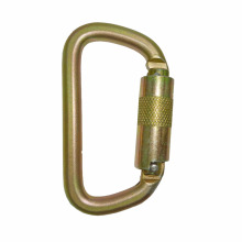 2308TL Steel Small D Rescue Safety Carabiner