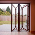 Double Glazing Bifold Aluminium Sliding Doors