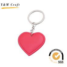 Venda quente heartshape pu chaveiro com alta qualidade (y03872)