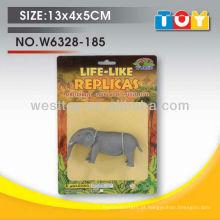 Brinquedo de elefante de borracha de criança de boa qualidade feito na China