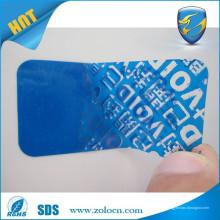 Наклейка с надписью на наклейку / этикетка с защитой от несанкционированного доступа / этикетки с надписью void tamper
