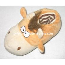 Cartoon Spielzeug Schuhe Plüsch Angefüllte Tiere Hausschuhe (TF9733)