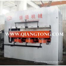 YX700 ~ 900T máquina laminadora de laminación de un solo lado laminadora para tableros de muebles