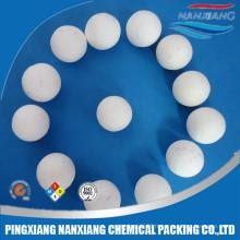 Haute qualité haute pureté al2o3 99% inerte alumine céramique boule lit catalytique support
