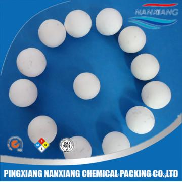 Almohadilla de cerámica de alúmina de alta pureza Al2o3 99% de alta calidad soporte de cama de catalizador