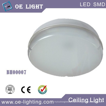 Mamparo de 15W LED / luz de techo con 3 horas emergencia