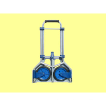 Folding Hand Trolley Ht1589c, Aluminium Shopping Trolley, Shopping Cart