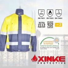 100% Cotton Flame Retardant Anti static anti mosquito jacket