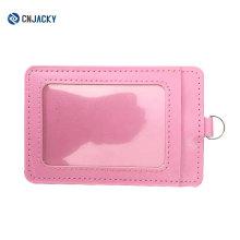 Цветастый Подгонянный PVC кожаный ID карты держатель с двумя папками