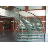 High Strength Transparent Anti Slip Glass With 12mm+1.52pvb+12mm 15mm+1.9pvb+19mm Thickness