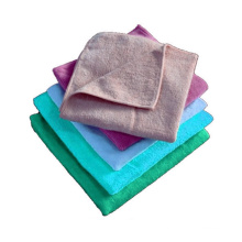 80 polyester 20 polyamide kintted fabric/ microfiber car leaning towel/kitchen towel