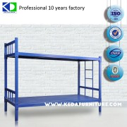 Military office double metal replacement parts bunk bed adult