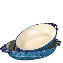 Low Price Glazed Customized Ceramic Bake Ware