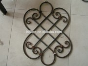 wrought iron accessories for fence