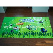 Хлопок полный размер печати полотенце (SST0309)