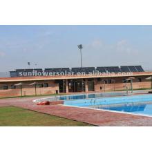 Druckwärme Solarenergie Collecto für Schwimmbecken