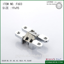2016 High quality concealed cross hinge for cabinet door