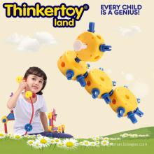 Jogo de Puzzle Plastic DIY Formiga Modelos Brinquedos Educativos para Crianças