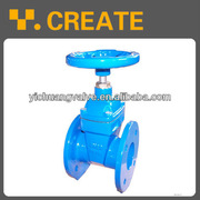DIN Ductile Iron Resilient Seated Gate Valve