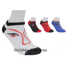 Заказной дешевые мужчин женщин полиэстер короткие носки