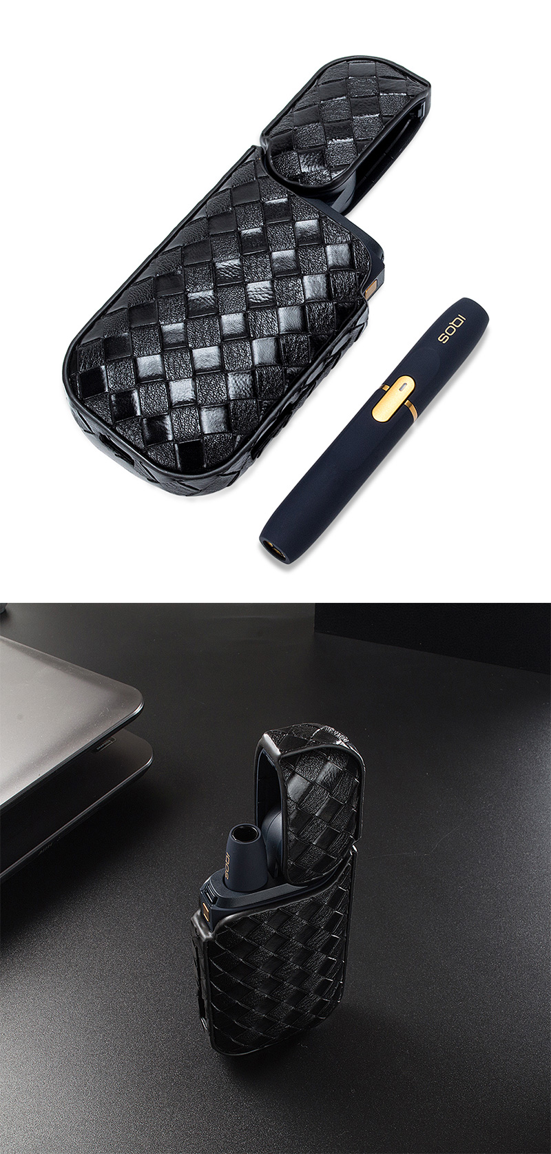 Iqos Woven Pu Case