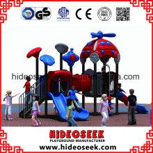 Corrediça do campo de jogos do esporte da ginástica para o jardim de infância