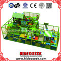 Indoor Naughty Castle for Children with Trampoline and Ball Pit