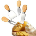 5PCS Cheese Knife Set with Bamboo Cutting Board