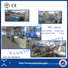 Pet Sheet Plastic Extrusion Making Machine