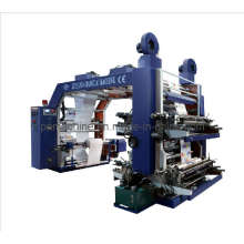 High Speed 4 Colors Flexographic Printing Machine (CE)