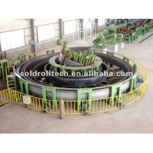 Línea de producción de tubería soldada de gran tamaño