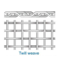 Mesh Stainless Twided Weave Wire Mesh