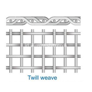 Stainless Steel Twilled Weave Wire Mesh