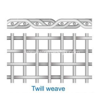 Stainless Steel Twilled Weave Wire Mesh China Manufacturer