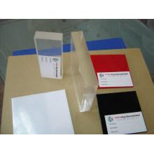 Feuille acrylique de plexiglass de plastique de fonte de couleur