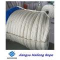Cuerdas de fibra de doble capa de cuerdas de amarre para la operación en lote mixto en alta mar