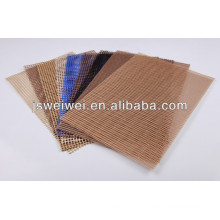 China trade assurance factory top sale ptfe coated fiberglass open mesh conveyor belt