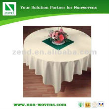 High quality disposable non-woven table colth made in Gaungdong