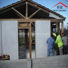 Aislamiento externo Panel de pared impermeable Panel de fibra de cemento