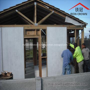 Доска цемента волокна панели стены внешней изоляции водоустойчивая