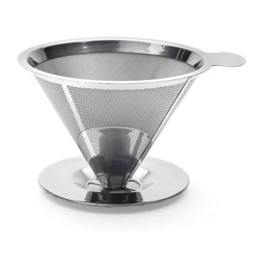 Innovativer Pour Over Kaffeetropf mit Schaufel
