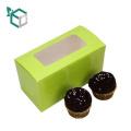 Alibaba 2017 neue design FSC lebensmittelqualität papier gemacht euro markt günstigen preis cupcake boxen