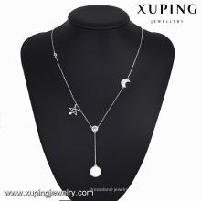 necklace-00107-bijoux fantaisie indonésie collier longue perle étoile de lune