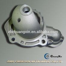 De alta calidad de automóviles Motor de arranque cubierta final de fundición de aluminio accesorio de coche