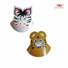 New Fashion Custom Design Animal Patterns Paper Hat