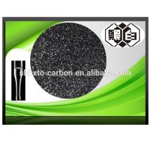 Preço de fábrica de prata impregnado de coco, carvão granulado ativado à base de concha
