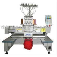 Zhaoshan sola cabeza de la máquina del bordado del casquillo precio barato buena calidad